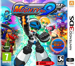 Mighty No. 9 3DS Cover