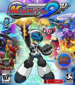 Mighty No. 9 PS Vita Cover