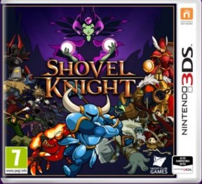 Shovel Knight 3DS Cover