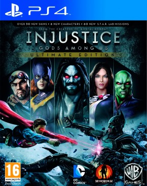Injustice: Gods Among Us Ultimate Edition PS4 Cover