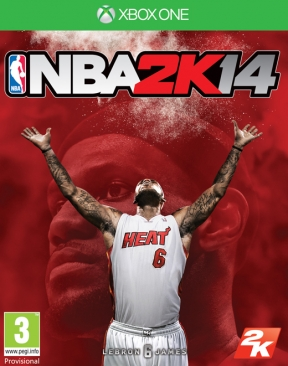 NBA 2K14 Xbox One Cover