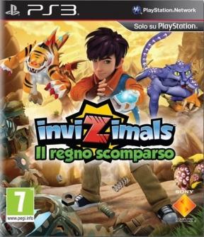 Invizimals: Il Regno Scomparso PS3 Cover