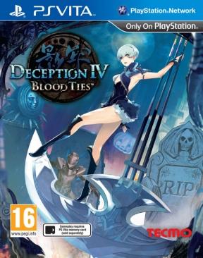 Deception IV: Blood Ties PS Vita Cover