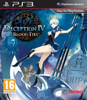 Deception IV: Blood Ties PS3 Cover