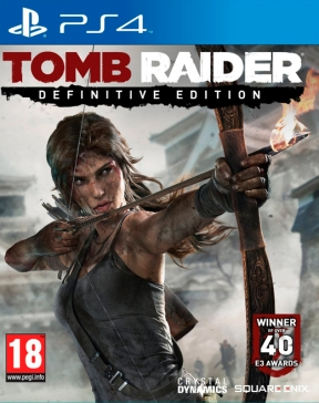 Tomb Raider Definitive Edition PS4 Cover