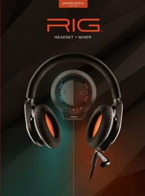 Plantronics RIG PC Cover
