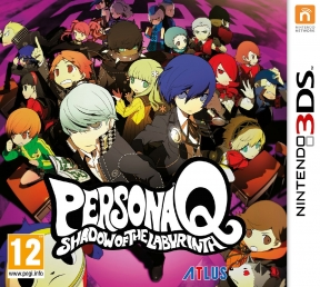 Persona Q: Shadow of the Labyrinth 3DS Cover