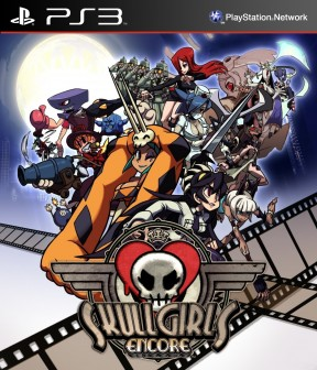 Skullgirls Encore PS3 Cover