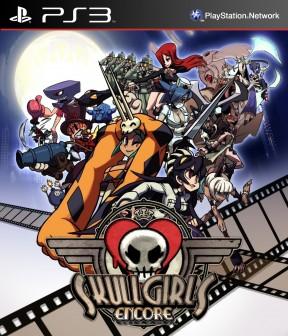 Skullgirls Encore PS3 Cover