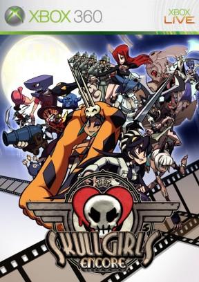 Skullgirls Encore Xbox 360 Cover