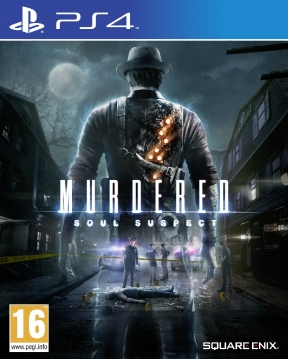 Murdered: Soul Suspect PS4 Cover