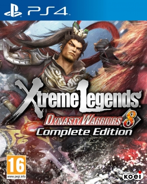 Dynasty Warriors 8 Xtreme Legends PS4 Cover