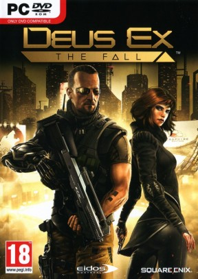 Deus Ex: The Fall PC Cover