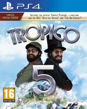 Tropico 5 PS4 Cover