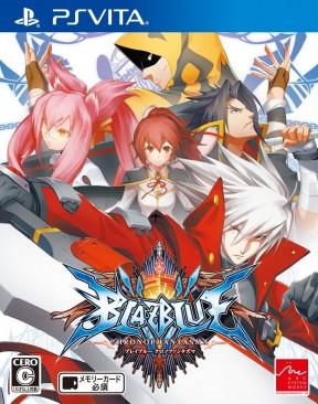 BlazBlue: Chrono Phantasma PS Vita Cover