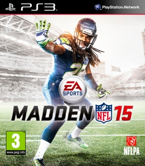 Madden NFL 15 PS3 Cover