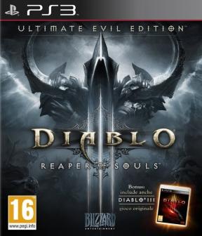 Diablo III: Ultimate Evil Edition PS3 Cover