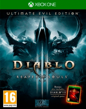 Diablo III: Ultimate Evil Edition Xbox One Cover