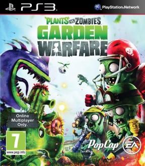 Plants vs Zombies: Garden Warfare PS3 Cover
