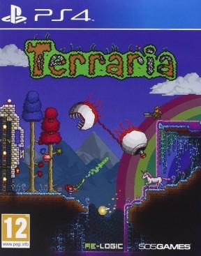 Terraria PS4 Cover