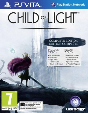 Child of Light PS Vita Cover