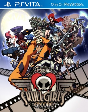 Skullgirls Encore PS Vita Cover