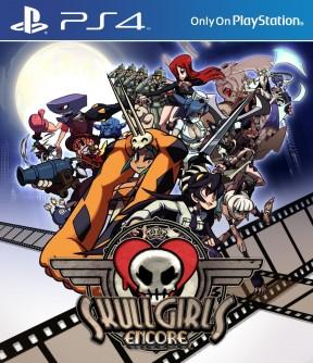 Skullgirls Encore PS4 Cover
