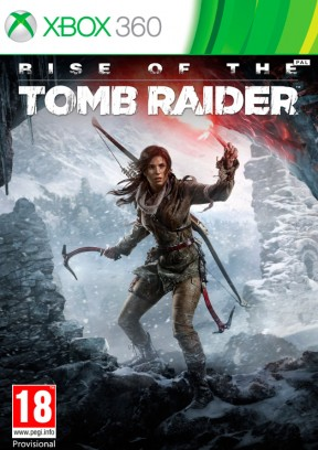 Rise of the Tomb Raider Xbox 360 Cover