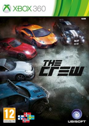 The Crew Xbox 360 Cover