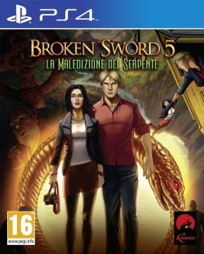 Broken Sword 5: La Maledizione del Serpente PS4 Cover