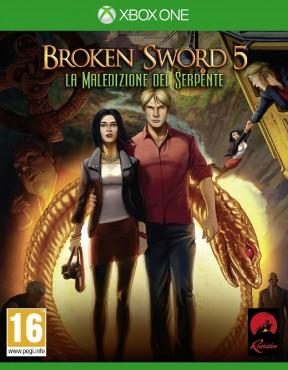 Broken Sword 5: La Maledizione del Serpente Xbox One Cover