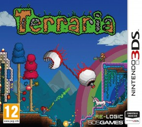 Terraria 3DS Cover