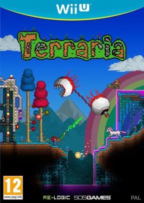 Terraria Wii U Cover