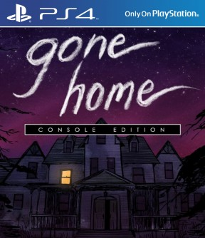 Gone Home PS4 Cover