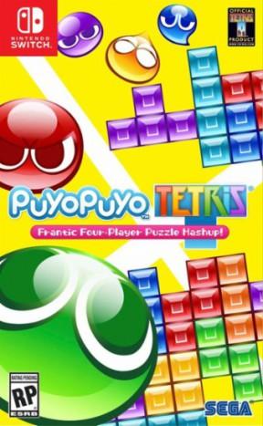 Puyo Puyo Tetris Switch Cover