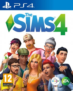 The Sims 4 PS4 Cover