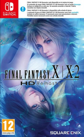 Final Fantasy X | X-2 HD Remaster Switch Cover