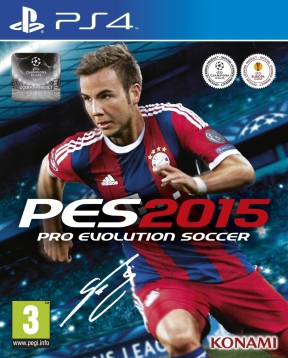 PES 2015 PS4 Cover