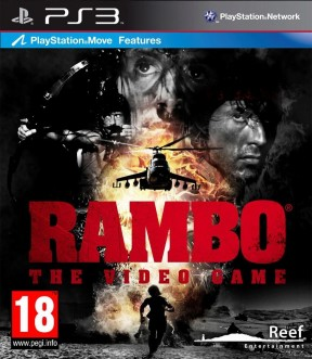 Rambo: The Video Game PS3 Cover