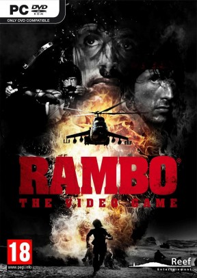 Rambo: The Video Game PC Cover