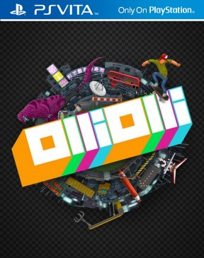 Olliolli PS Vita Cover