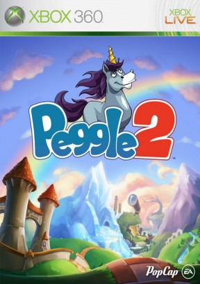 Peggle 2 Xbox 360 Cover