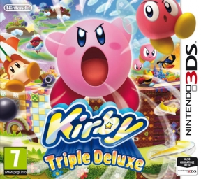 Kirby: Triple Deluxe 3DS Cover
