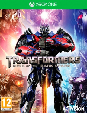 Transformers: Rise of the Dark Spark Xbox One Cover