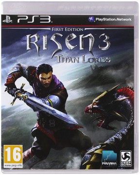 Risen 3: Titan Lords PS3 Cover