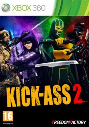 Kick-Ass 2 Xbox 360 Cover