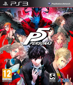 Persona 5 PS3 Cover