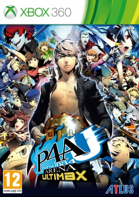 Persona 4 Arena Ultimax Xbox 360 Cover