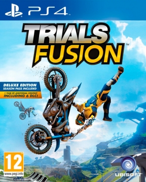 Trials Fusion PS4 Cover