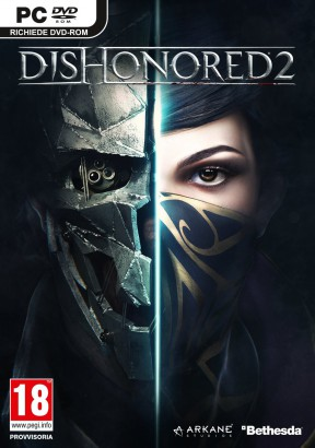 Dishonored 2 PC Cover